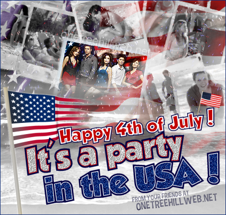 Happy 4th of July from OneTreeHillWeb.net