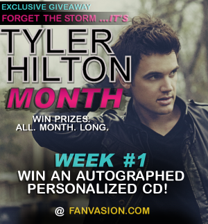 Forget the Storm   It s Tyler Hilton MONTH!   Exclusive Giveaways